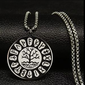 COPY - Wicca Lotus Stainless Steel Chain Necklace…